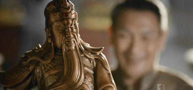 creepy grandfather (alive and dead, seriously, guan gong)