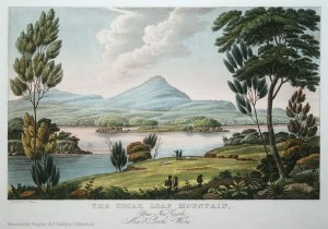 Joseph Lycette, The Sugarloaf Mountain, near Newcastle, New South Wales. (boring)