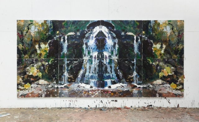 Ben Quilty's Fairy Bower Rorschach