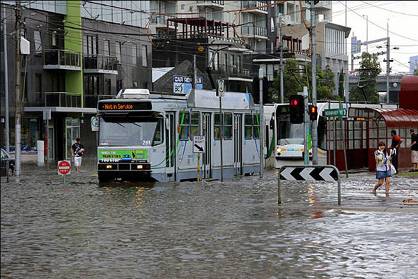 melbourne flooding - photo #17