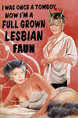 full grown lesbian FAUNS by friends of no award JP and NW