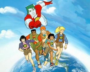Why is Captain Planet so much bigger than the Planeteers?