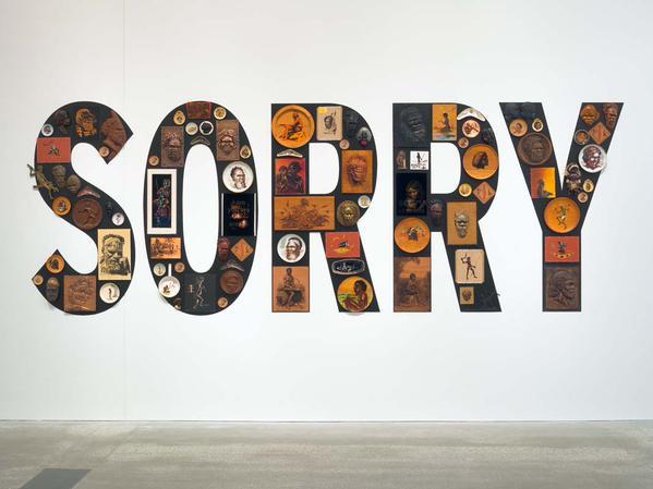 tony albert, sorry, 2008