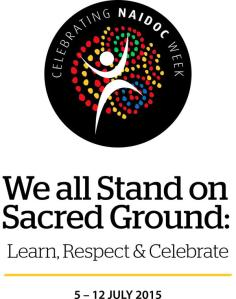 we all stand on sacred ground: learn, respect + celebrate