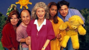 Benita with other mid-90s Playschool presenters