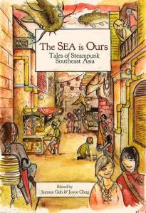 Illustrated cover for The Sea is Ours