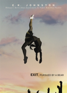 Illustrated cover: a cheerleader in mid-air, her shoe pointed at the sky, waiting hands below.