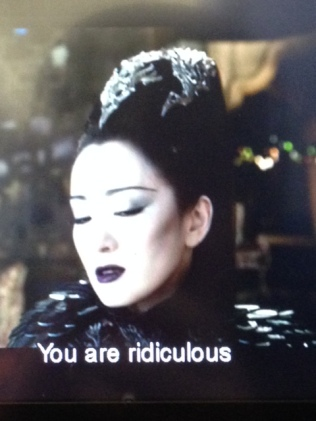 Gong Li, beautiful, 'You are ridiculous'