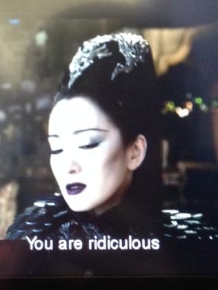 Gong Li, beautiful, 'You are ridiculous'